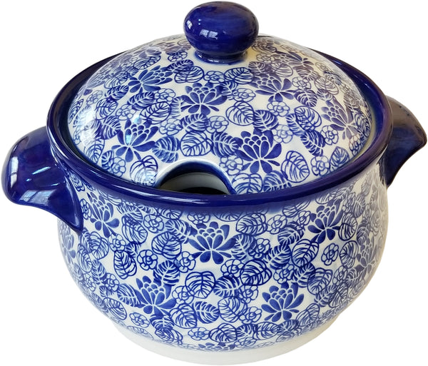"Boleslawiec Polish Pottery Soup Tureen or Baker Dutch Oven ""Madeline"""