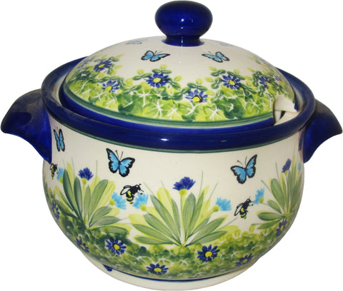 Boleslawiec Polish Pottery Unikat Soup Tureen or Baker