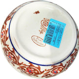 "Boleslawiec Polish Pottery UNIKAT Sugar Bowl ""Autumn"""