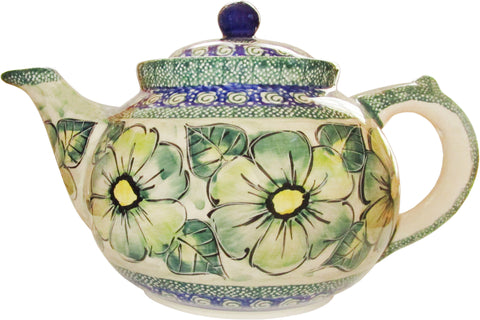 Boleslawiec Polish Pottery UNIKAT Teapot Coffee Pot