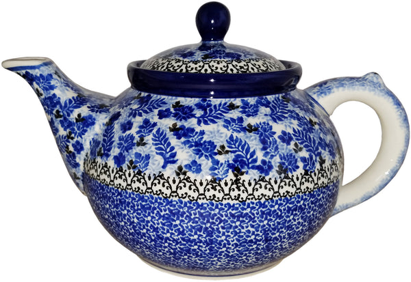 Boleslawiec Stoneware Polish Pottery Teapot Coffee Pot  CA1976