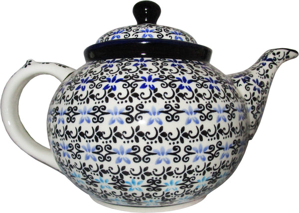 "Boleslawiec Stoneware Polish Pottery Teapot Coffee Pot ""Martina"""