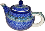 Boleslawiec Stoneware Polish Pottery Teapot Coffee Pot  CA1647
