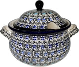 "Boleslawiec Polish Pottery UNIKAT Soup Tureen or Baker 5L ""Martina"""