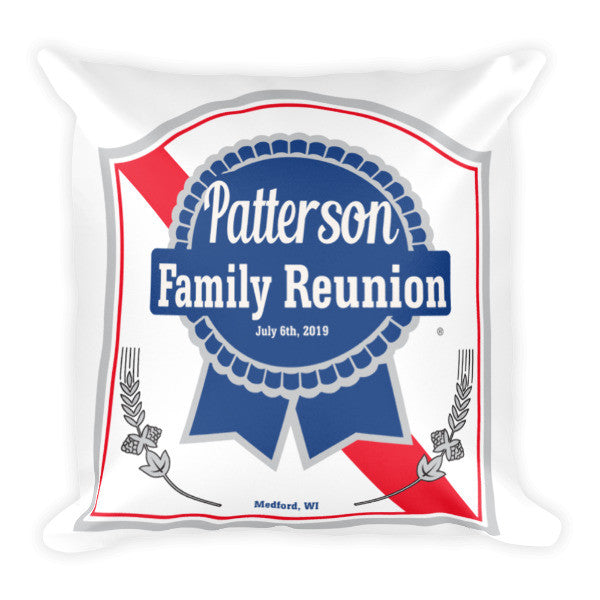 Patterson Family Pillow