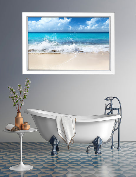 Ocean Wave Custom Metal Print