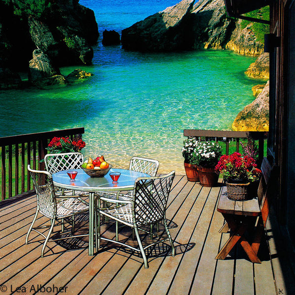 Dream Porch, Metal Print