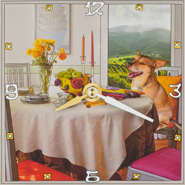 Dinning, Custom Collage Clock