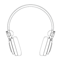mh30 foldable on ear headphones