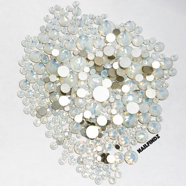 Swarovski White Opal Flatback Collection