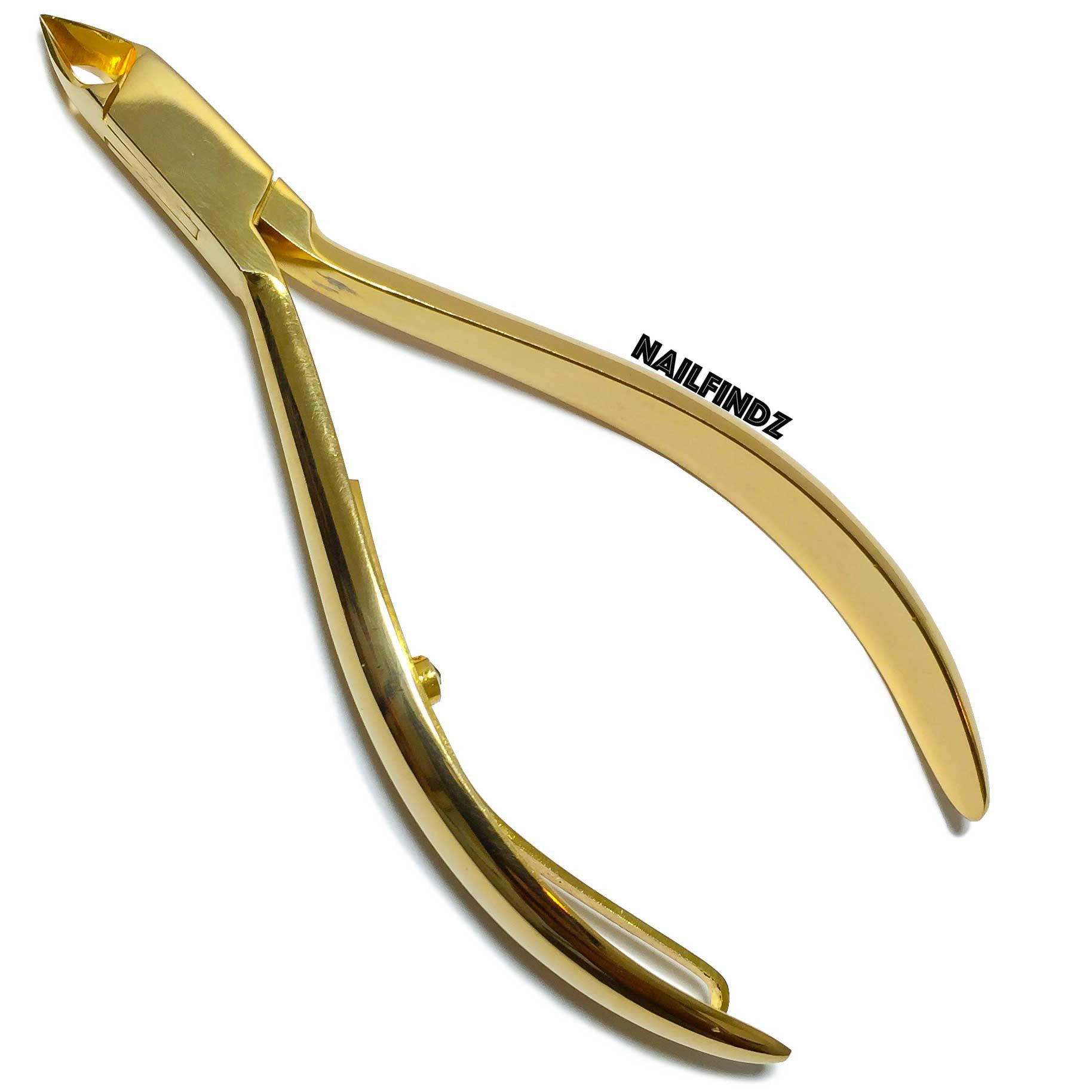 Gold Cuticle Nippers - Nail Findz