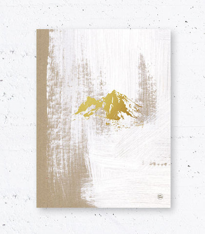 MOUNTAINS, gull/gold