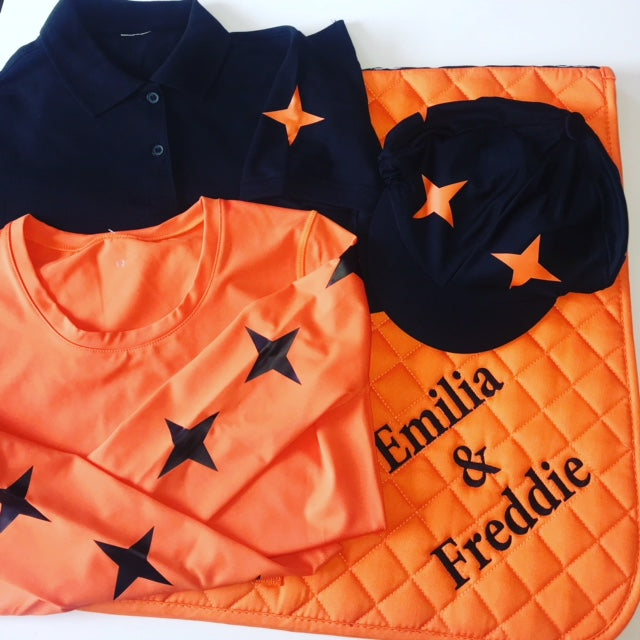 Saddlecloth Personalised XC Cross Country Colours Rhino Base layer
