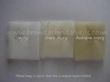 Sample Swatch - Bridal Illusion Tulle Veil