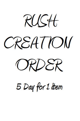 Rush Creation - 5 day (1 item)