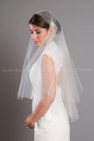 Juliet Cap Veil, Bridal Veil, 1920s Wedding Veil - Anna-Kate