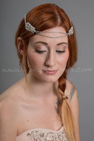 Art Deco Rhinestone Headband - Demi
