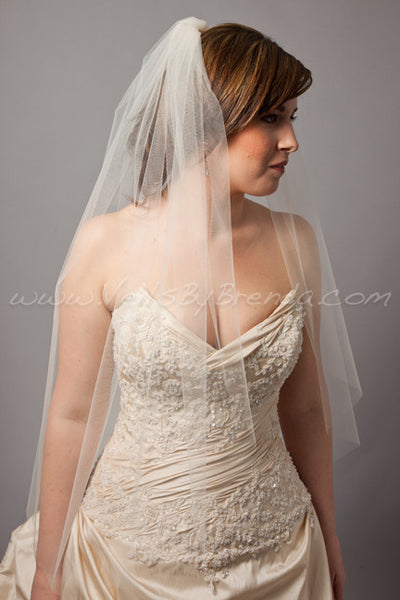 "Bridal Veil Single Layer - 54"" through 108"" Lengths"