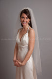 "Wedding Veil Single Layer - 42"" through 52"" Lengths"