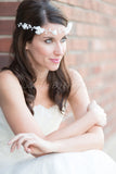 Bridal Flower Headband - Tania