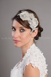 Layered Rhinestone and Pearl Hair Comb - Tremeka