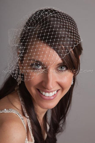 Wedge Birdcage Veil