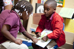 Black Children Reading