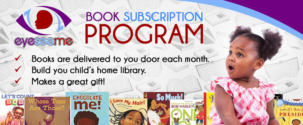 Learn all about EyeSeeMe's Book Subscription Program