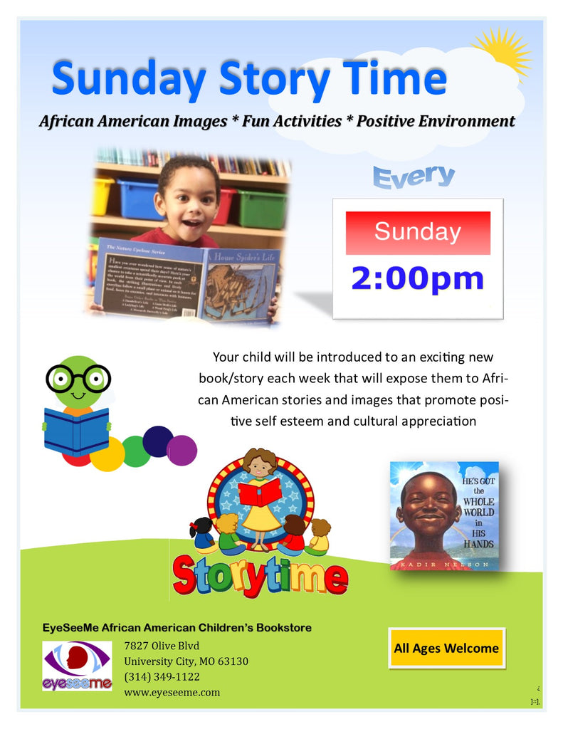 Sunday Story Time - Every Sunday at 2pm