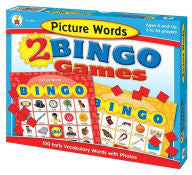 Picture Words Bingo - EyeSeeMe African American Children's Bookstore