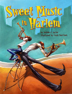 Sweet Music in Harlem - EyeSeeMe African American Children's Bookstore