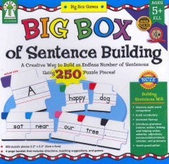 Big Box of Sentence Building - EyeSeeMe African American Children's Bookstore