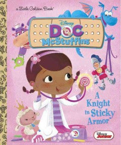 A Knight in Sticky Armor (Disney Junior: Doc McStuffins) - EyeSeeMe African American Children's Bookstore