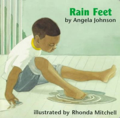 Joshua - Rain Feet by Angela Johnson - EyeSeeMe African American Children's Bookstore