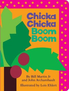 Chicka Chicka Boom Boom - EyeSeeMe African American Children's Bookstore