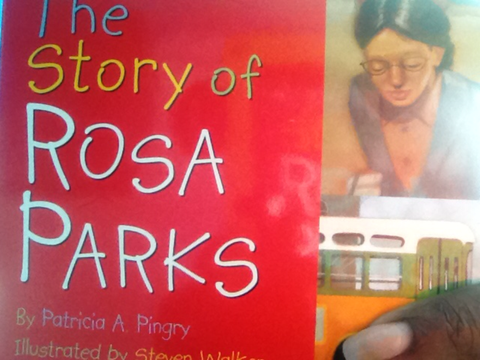 The Story of Rosa Parks - boardbook - EyeSeeMe African American Children's Bookstore