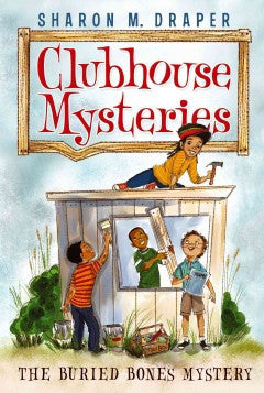 Clubhouse Mysteries Series #1:  The Buried Bones Mystery - EyeSeeMe African American Children's Bookstore