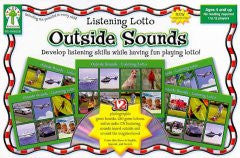Outside Sounds - EyeSeeMe African American Children's Bookstore