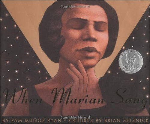 When Marian Sang: The True Recital of Marian Anderson - EyeSeeMe African American Children's Bookstore