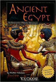 Ancient Egypt: An Interactive History Adventure - EyeSeeMe African American Children's Bookstore