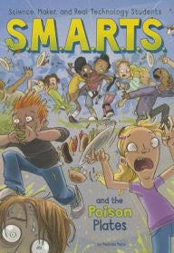 S.M.A.R.T.S. and the Poison Plates - EyeSeeMe African American Children's Bookstore