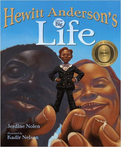 Hewitt Anderson's Great Big Life - EyeSeeMe African American Children's Bookstore