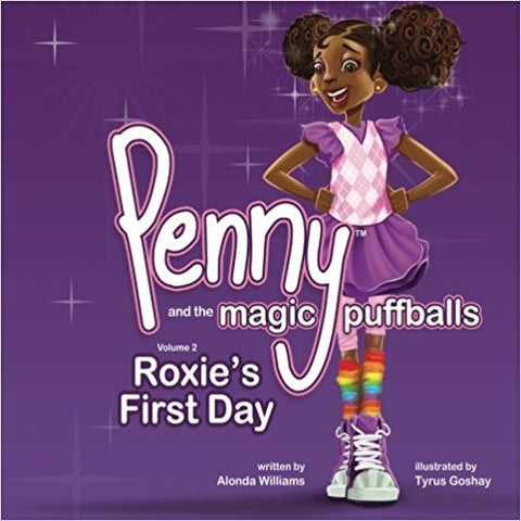 Penny and the magic puffballs- My friend Roxie (Volume 2)