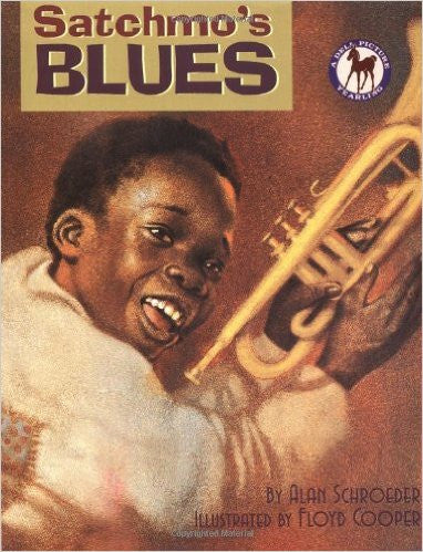 Satchmo's Blues - EyeSeeMe African American Children's Bookstore