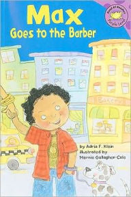 Max Goes to the Barber - EyeSeeMe African American Children's Bookstore