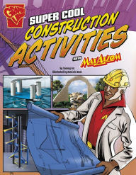 Max Axiom Science and Engineering Activities Series - Super Cool Construction Activities - EyeSeeMe African American Children's Bookstore
