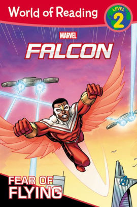 Marvel - World of Reading:  Falcon Fear of Flying (level 2)