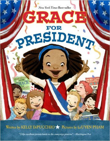 Grace for President - EyeSeeMe African American Children's Bookstore