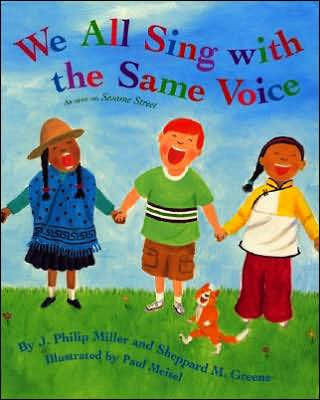 We All Sing with the Same Voice (Book and CD)