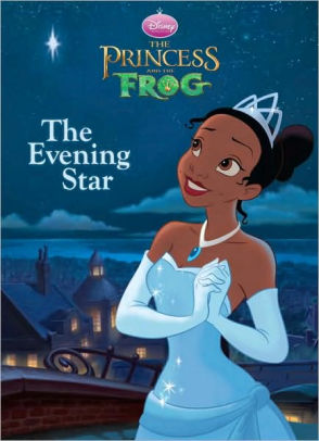 The Princess and the Frog the Evening Star Coloring Book
